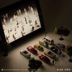 ▶︎▶︎ Drive-in theater by Tanaka Tatsuya