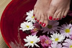 Looking for how to do pedicure at home? Here is the best way to do DIY Pedicure. You can also check out tips for pedicure and Home Pedicure Kit. Do pedicure at home and save money. Foot Pedicure, Pedicure At Home, Manicure Y Pedicure, Toenail Fungus Home Remedies, Toenail Fungus Treatment, Foot Remedies, Natural Remedies, Hair Treatments, Listerine Feet