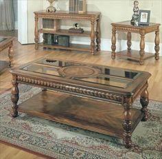"""coffee table - """"step into my parlor"""" 