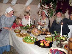 Saxons & Vikings - food facts - History cookbook - Cookit!