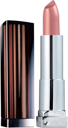 Maybelline New York Colorsensational Lipcolor, Copper Charm Ounce Maybelline Lipstick Shades, Drugstore Lipstick, Lipstick Swatches, Makeup Dupes, Lipsticks, Lip Makeup, Beauty Makeup, Fall Lipstick Colors, Neutral Lipstick