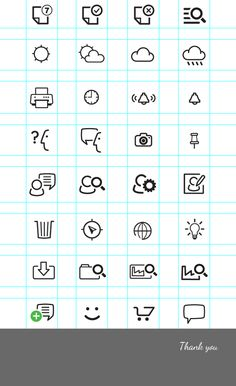 Pictograms Vol.1 by Manlio Tenaglia, via Behance