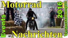 Motorrad - Events / Motorrad - Treffen / Motorrad - Rennen 2016 | #Motor...
