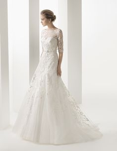 rosa clara wedding dresses 2014 bridal collection. #wedding #weddings