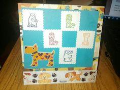Doggy card for boys