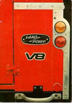 Land Rover Stage 1 V8 brochure picture