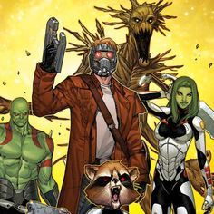 Guardians of the Galaxy ~by Sara Pichelli