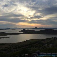 The 25 best small towns in South Africa   SAvisas.com - Gariepdam   The view from de Stijl Gariep hotel.