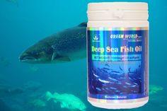 Deep Sea Fish Oil herbal kolesterol yang kaya akan kandungan minyak ikan omega-3, minyak biji kedelai, bermanfaat turunkan kolesterol Anda.