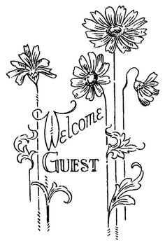 W 734 or Serial nº 2020 f Vintage Embroidery, Embroidery Applique, Cross Stitch Embroidery, Embroidery Patterns, Machine Embroidery, Towel Embroidery, Gravure, Colouring Pages, Just In Case
