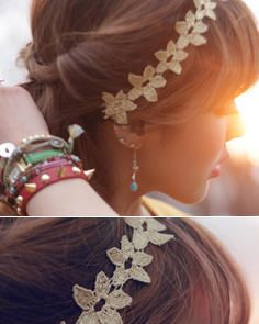 Lace Hair Band from #YesStyle <3 kitsch island YesStyle.com.au