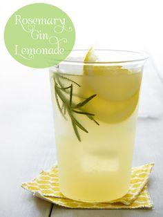 rosemary gin drink recipe -