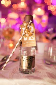 chic wedding favor idea; photo: Meely Photography