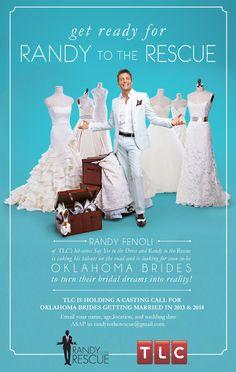 TLC's Randy to the Rescue in OKC! #idoappointments #RandyFenoli #JJKellyBridal #weddingdress