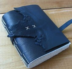 Leather journal by Barbara Simler of Moon & Hare
