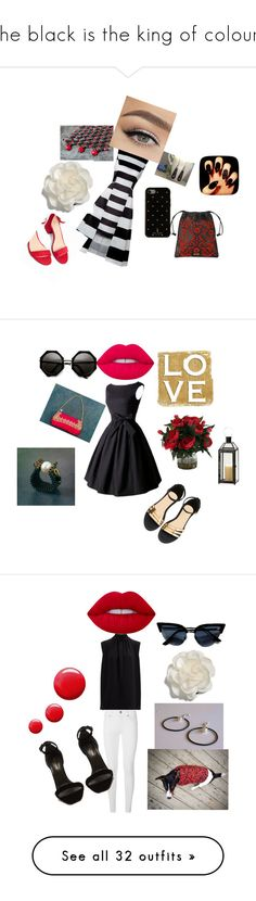 """""""The black is the king of colours"""" by mariellascode on Polyvore featuring Express, Kate Spade, Cara, Prada, Lime Crime, Joseph, Burberry, Yves Saint Laurent, Topshop and Dorothy Perkins"""