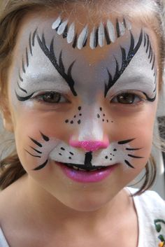 Face Paint for Kitty Cat Luka