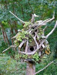birdhouses, driftwood, stick, gardens, fairi, birds, friend, camouflage, bird hous