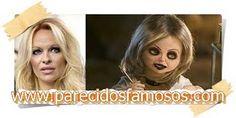 Parecidos con famosos: Pamela Aderson con la novia de Chucky