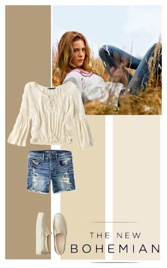 """""""The New Bohemian with American Eagle Outfitters: Contest Entry"""" by ilonabest ❤ liked on Polyvore"""