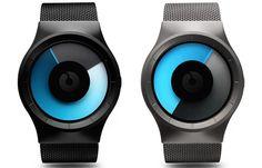 Ziiiro Celeste Watch-Finally! A modern day gadget that gauges charm effectiveness through female receptor antenee. Genius! #watch, #gadget, #jamesbond