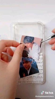 Kpop Phone Cases, Art Phone Cases, Iphone Cases, Cell Phone Covers, Diy Resin Art, Resin Crafts, Diy Resin Phone Case, Kpop Diy, Aesthetic Phone Case