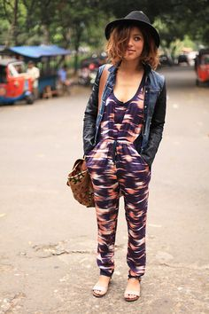 Day one on the streets of Jakarta (by Christina Caradona) http://lookbook.nu/look/4224069-Day-one-on-the-streets-of-Jakarta