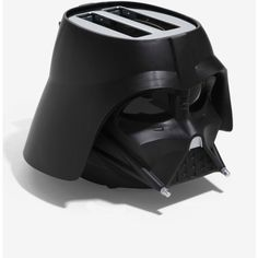 Star Wars Darth Vader Toaster ($50) ❤ liked on Polyvore featuring home, kitchen & dining, small appliances, star wars toaster, 4-slice toasters, bread toaster, darth vader toaster and star wars darth vader toaster