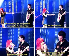 Funny Paramore moment :D lol