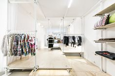 Entrancing Boutique Interior Design Concept : Design And Fashion Concept Store In Berlin By Kontent Transforms  Apple Store Interior Design Concept Boutique Interior Design Concepts