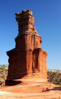 """Palo Duro Canyon State Park, Texas  """"The Lighthouse"""" Great hike with my family - get an early start, that Texas summer heats up quick!"""