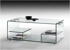 mesa cristal templado elevable mueble auxiliar sideboard http