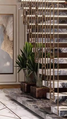 home design and décor for staircase hall with modern decoratons. Get more interior design ideas for living rooms. Staircase Interior Design, Home Stairs Design, Small House Interior Design, Home Design Living Room, Japanese Interior Design, Residential Interior Design, Modern House Design, Living Rooms, Home Hall Design