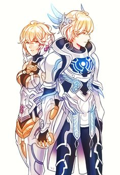 [Xenoblade] Shulk e Fiora - page 2 Monolith Soft, Xenoblade Chronicles Wii, Xeno Series, Character Art, Character Design, Best Rpg, Nintendo Characters, Fate Anime Series, Manga Games