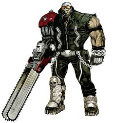 Jack Cayman from Anarchy Reigns