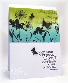 CAS208 Musical Wings by bfinlay - Cards and Paper Crafts at Splitcoaststampers