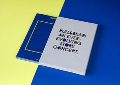 Pull & Bear Corporate Book by Ana Mirats, via Behance