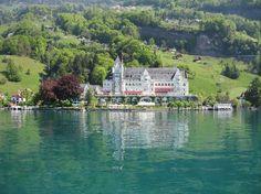 Park Hotel, Vitznau, Suisse.