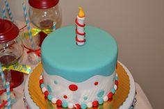 Seuss Cake by Simply Sweet Creations Cake Icing, Fondant Cakes, Cupcake Cookies, Cupcakes, Dr Seuss Cake, Birthday Cake Smash, Just Cakes, Occasion Cakes, Love Cake