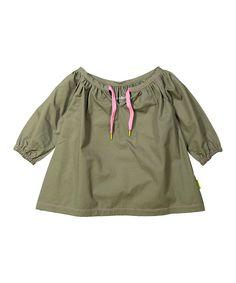 Green Putty Marie Tunic - Toddler & Girls
