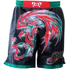 MyHouse Sublimated Mexico Wrestling Fight Short