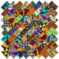 72 2 Fabric Squares African Ethnic Cotton Quilting by African Textiles, African Fabric, African Prints, African Map, African Dashiki, Asian Quilts, Applique Quilt Patterns, American Quilt, Africa Art