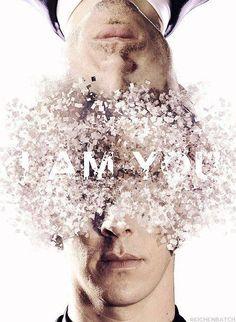 Sherlock fan art. I am you.