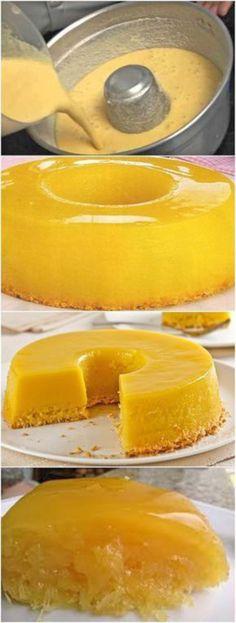 Portuguese Desserts, Portuguese Recipes, Pudding Recipes, Cake Recipes, Easy Cooking, Cooking Recipes, Brazillian Food, Flan Recipe, Food Inspiration