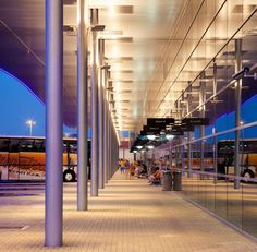 Bus Station by Rechner