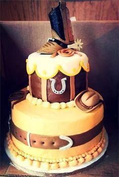 Western Cake Cowboy Cake Cakes Pinterest Cowboy cakes