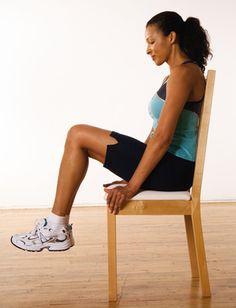 Traction des cuisses, assis http://www.plaisirssante.ca/ma-sante/forme/4-exercices-pour-raffermir-votre-abdomen?slide=4 #fitness