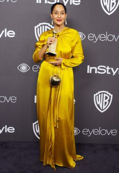 Golden Globes 2017: Best Afterparty Dresses - Tracee Ellis Ross in Paula Ka