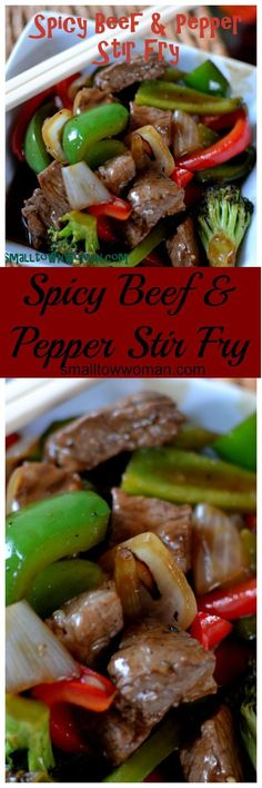 I love stir-fry. This is an easy recipe with just the right amount of spice. If you cut your veggies ahead of time and keep your wok extremely hot stir-fry is a piece of cake! #chinesefoodrecipes