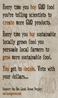Support local farmers and markets whenever possible!